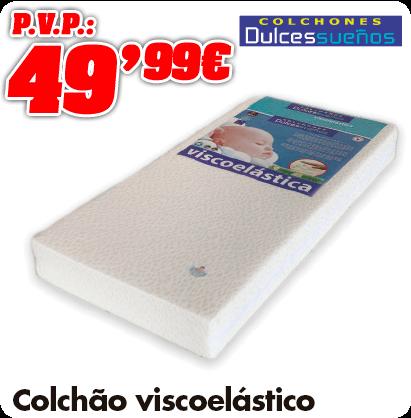Matelas visco elastique 60x120