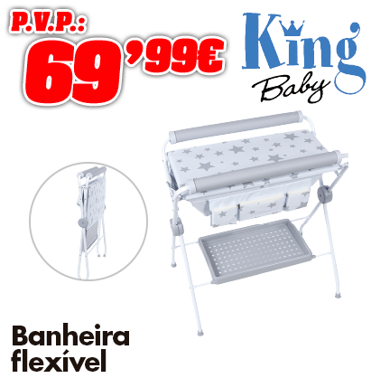 King Baby banhera flexible