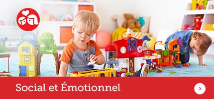 Juguetes de etapa social y emocional