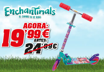 promo trotinete enchantimals