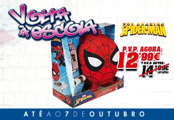 Spiderman Mochila Peluche
